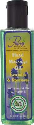 Puro Body & Soul Lavender Rosemary Head Massage Oil Hair Oil