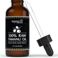 Lagoon Essentials Oil Cold Pressed (2oz / 60ml). 100% Raw Virgin Pure Unrefined From Lagoon Essentials For Hair, Skin, Face, Nails, Scars, Stretch Mar