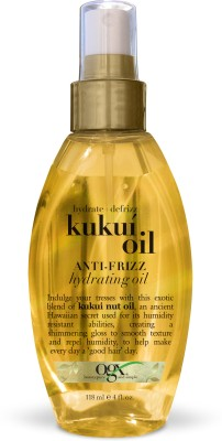 OGX Hydrate + Defrizz Kukui Oil anti-frizz hydrating oil Hair Oil