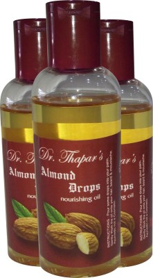 Dr. Thapar's Almond Drops for Head/Mustache/ Beard Hair Oil