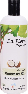 La Flora Organics Pure Coconut Oil Hair Oil
