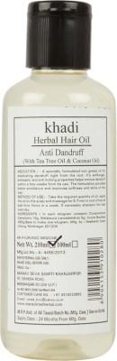 Khadi Manav Herbal Anti Dandruff with Tea Tree & Coconut Hair Oil