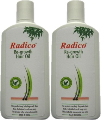 Radico Regrowth Oil ( Twin Pack ) Hair Oil