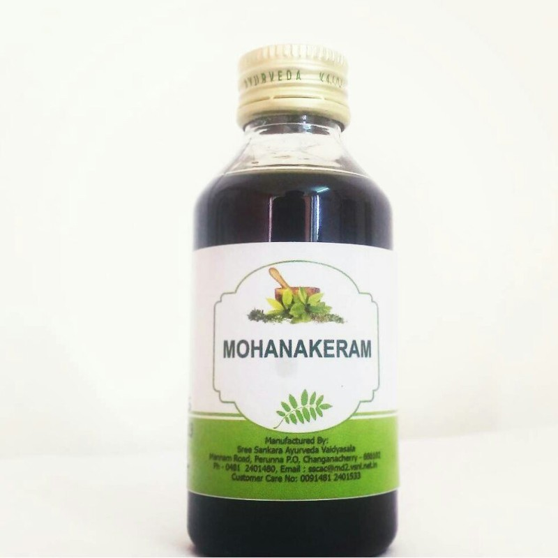 MOHANAKERAM Supports hair growth and controls excessive hair fall, Dandruff Control, Hair Oil(200 ml)