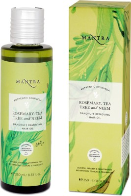 Mantra Rosemary, Teatree and Neem Dandruff Removing Hair Oil