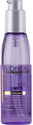 LOreal Paris Liss Unlimited Hair serum Hair Oil(124 ml)