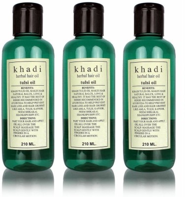 Khadi Herbal Tulsi Hair Oil