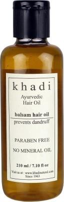 khadi Natural Anti Dandruff Balsam Ayurvedic (Paraben Free) Hair Oil