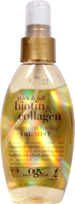 Organix Thick and Full Biotin - Collagen Weightless Healing Oil Mist Hair Oil