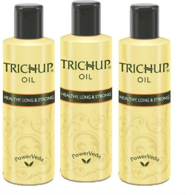 Trichup Healthy Long & Strong Hair Oil Combo Pack of 3 Hair Oil