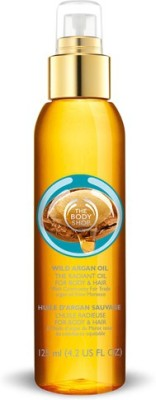 The Body Shop Wild Argan Hair Oil