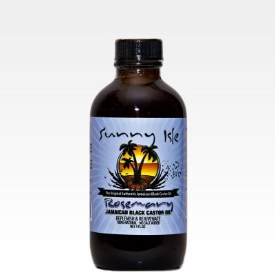 Sunny Isle Rosemary Jamaican Black Castor 4 Oz Hair Oil