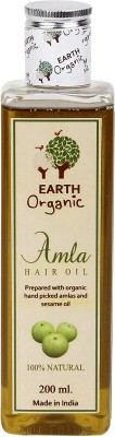 Earth Organic Amla  Hair Oil