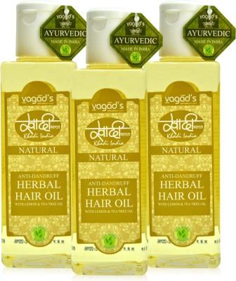 Khadi Natural Anti-Dandruff Oil [pack of THREE] Hair Oil
