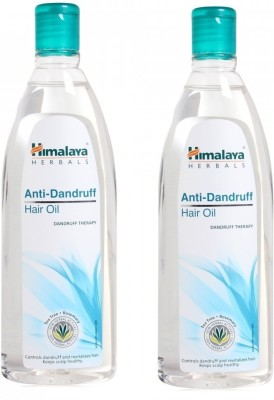 Himalaya Anti-dandruff Hair Oil (Pack of 2) Hair Oil
