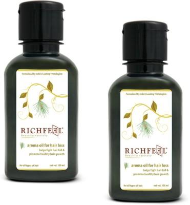Richfeel Hair Loss Oil 100ml (Pack Of 2) Hair Oil