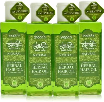 Khadi Natural Anti-Hairfall Oil [pack of FOUR] Hair Oil