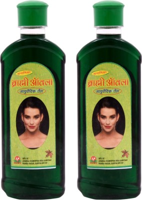 Anamika Combo Brhami harbal Ayurvedik Hair Oil