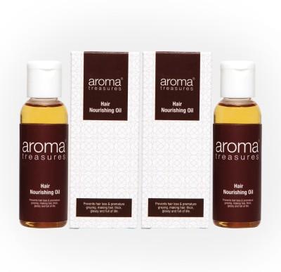 Aroma Treasures Nourishing Oil 50ml (Pack Of 2) Hair Oil