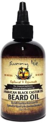 Sunny Isle Jamaican Black Castor Beard 4 oz Hair Oil