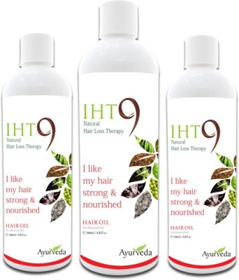 Lass Naturals Iht 9 Pack Of 3 Hair Oil