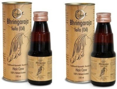 Ozone Bhringaraja Tail (Pack of 2) Hair Oil