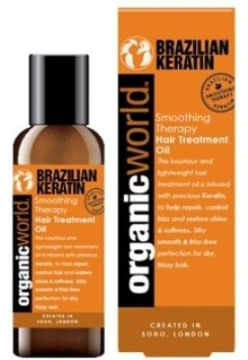 Organic World Brazilian Keratin Hair Oil (100 ml)