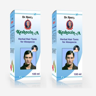 Dr.Rao's Keshovin-A(Alopecia Hair Oil)(100ml)(Pack Of 2) Hair Oil