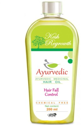 Kesh Regrowth hair Fall Control Ayurvedic Medicinal  Hair Oil