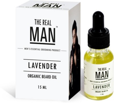 The RealMan Organic Beard Oil Lavender Hair Oil