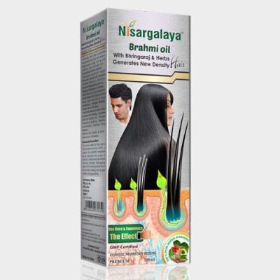 Nisargalaya Brahmi Hair Oil