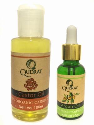 Qudrat Argan & Castor Hair Oil