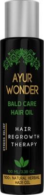 Ayurgenie Ayurwonder Bald Care Hair Oil