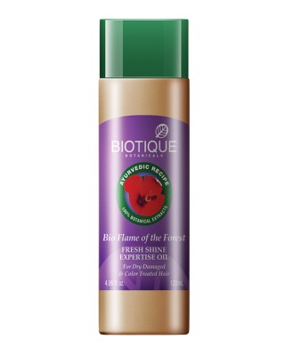 Biotique Bio Flame Of The Forest Fresh Shine Expertise Hair Oil