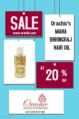 Orachic Mahabhringraj hair oil offer Hair Oil