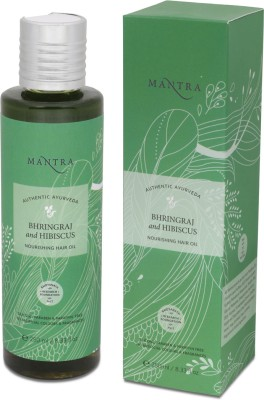 Mantra Bhringraj & Hibiscus Nourishing Hair Oil
