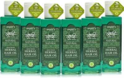 Khadi Natural Mind-Fresh Oil [ pack of SIX] Hair Oil