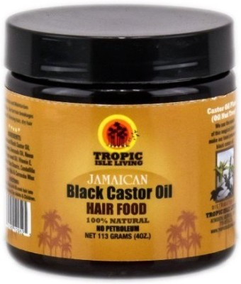 Tropic Isle black castor Oil Hair Oil