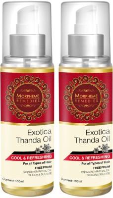 Morpheme Remedies Exotica Thanda  Hair Oil
