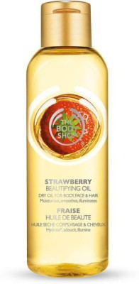 The Body Shop Strawberry Beautifying Oil Hair Oil