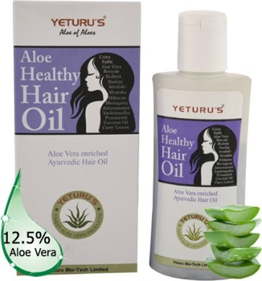 Yeturu's Aloe Healthy Hair Oil