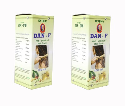 Dr.Rao's Dan-F(Anti-Dandruff Hair Oil)(Pack Of 2) Hair Oil