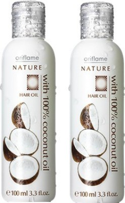 Oriflame Nature Hair Oil 100% Coconut Hair Oil(100 ml)