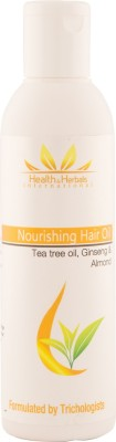 Health and Herbals International Nourishing Hair Oil