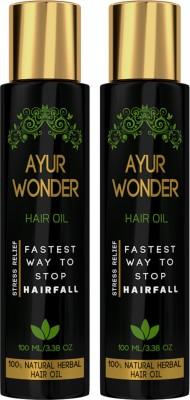 Ayurgenie Ayurwonder (Combo Pack of 2) Hair Oil