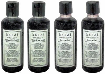 Khadi Natural Combo-20577-20578 Hair Oil