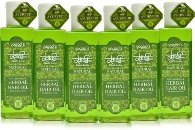 Khadi Natural Anti-Hairfall Oil [pack of SIX] Hair Oil