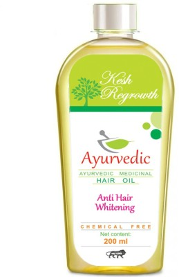 Kesh Regrowth Anti Whitening Ayurvedic Medicinal  Hair Oil