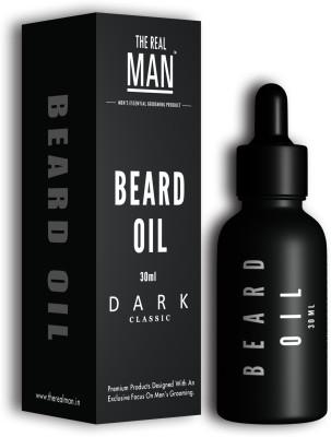 The Real Man Dark Classic Organic Beard Oil Hair Oil(30 ml)