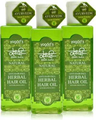 Khadi Natural Anti-Hairfall Oil [pack of THREE] Hair Oil